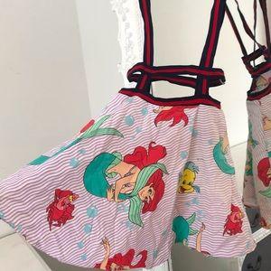 LITTLE MERMAID Suspender Skirt